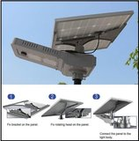 NHW solar serie, all-in-1, LED straatverlichting, 20W, 2800 lumen, 4000K, solar systeem_5
