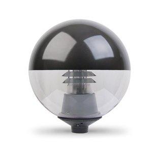 JGR serie, LED straatverlichting, 15W, 1700 lumen, 3000K, zwart
