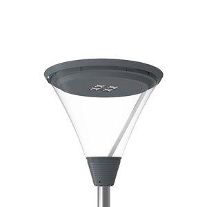 RBP serie, LED straatverlichting, 16W, 2600 lumen, > 160lumen/watt, 3000K, antraciet